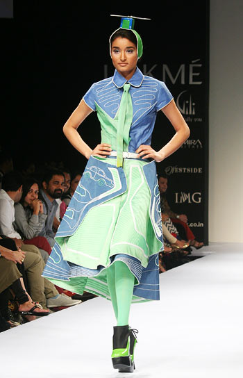 LFW: GenNext showing: Masaba and other newbies
