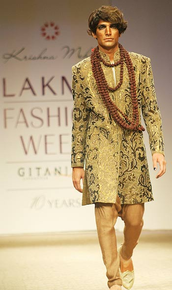 Shift to the sherwani