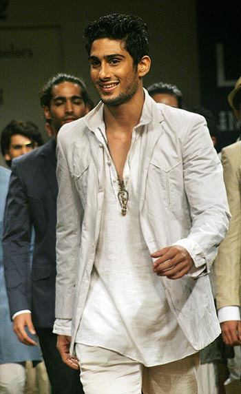 First Look: Prateik Babbar at Fashion Week