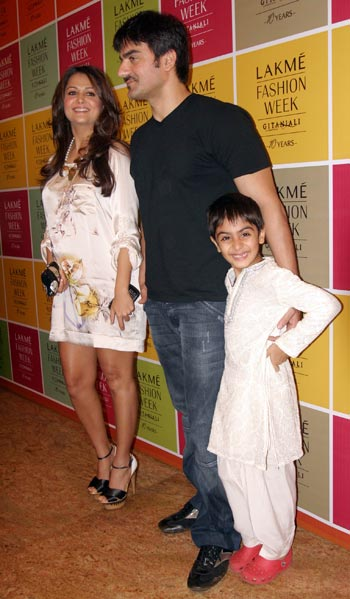 Amrita Arora and Arbaaz Khan