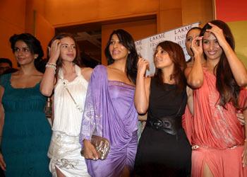 Gul Panag, (from L to R), Kalki Koechlin, Sophie Choudhary, Minissha Lamba, Malaika Arora-Khan