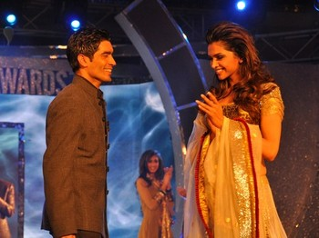 Manish Malhotra and Deepika Padukone
