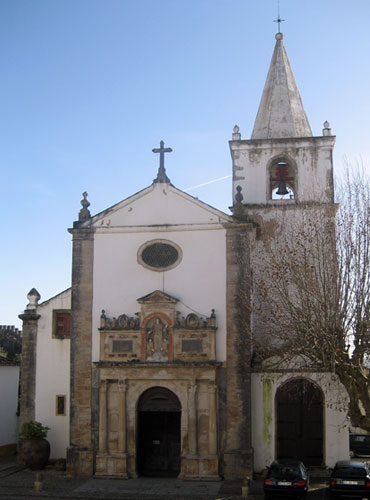 St Mary's Church at Obidos