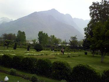 Shalimar Baug, Kashmir