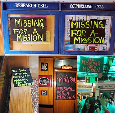 Missing for a mission they raised Rs 5,15,000