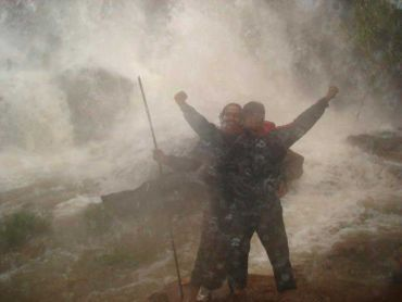 Unusual monsoon pics: Victorious adventurers