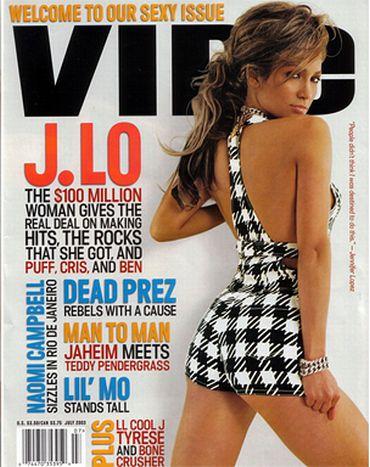 Jennifer Lopez on the cover of Vibe