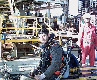 SAT diver Fredoon Kapadia