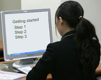 Instruction can be web-based, computer-based and instructor-led