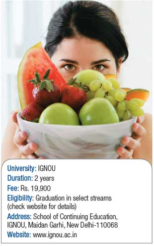 MSc in Dietetics and Food Service Management (DFSM)