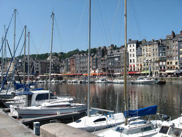 Picture perfect Honfleur. Spend a relaxing afternoon there and save on the cost of a postcard.