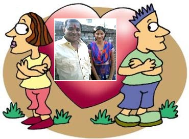 Deepak and Sonam Roy