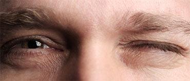 11. Eye twitching