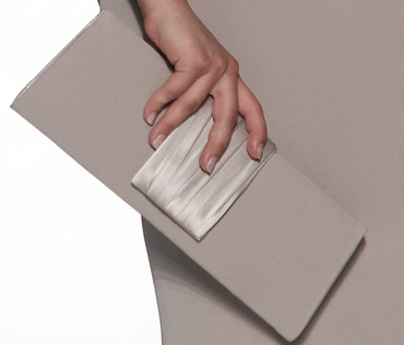 A sleek clutch