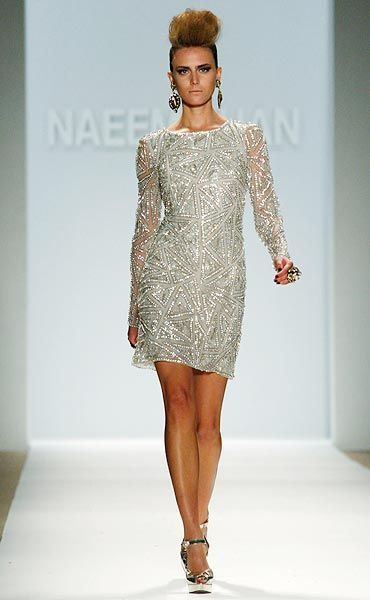 A cocktail dress by Naeem Khan