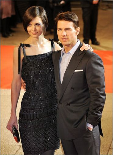 Katie Holmes and Tom Cruise
