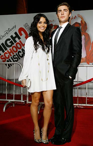 Vanessa Hudgens and Zac Efron