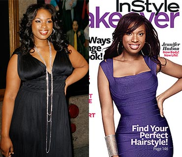 Jennifer Hudson Before and After