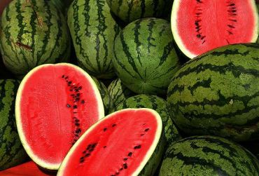Water-rich foods like watermelon prevent headaches