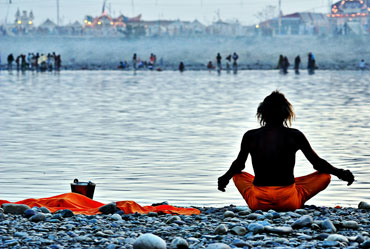 Worshipping the Ganges