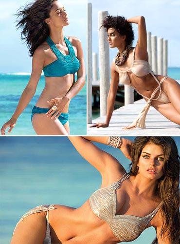 The Kingfisher Calendar   bikini bombshells  Rediff Getahead