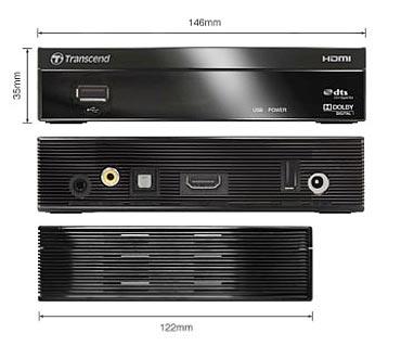 Transcend DMP10 HD Media Player