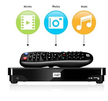 WD TV Live Hub 1 TB