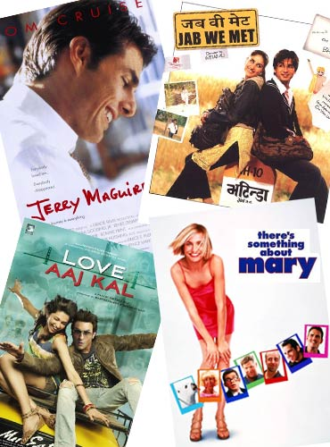 7. A compilation of romantic movies/ books
