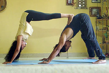 Learn to love, the Yoga way - Valentine's Day Special 2013