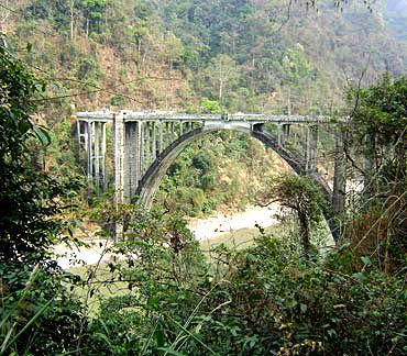 Sevoke Coronation Bridge, West Bengal