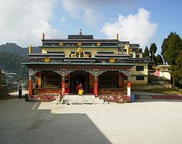 Lava Monastery, Darjeeling