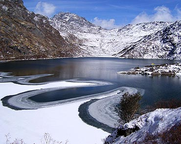 Your pics: The placid waters of Sikkim & more