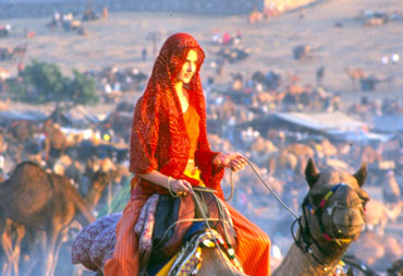 Pushkar is India's most famous camel fair and coincides with Kartik Purnima or a special full moon.