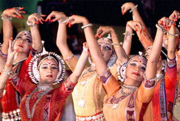 Music and dance mark the three-day Qutub festival in Delhi.