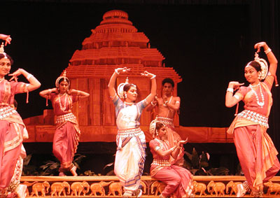 Indian classical and folk dancers from across the world perform at the Sun Temple, Konark.