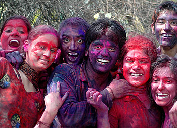 Holi the festival of colours is celebrated across the India with a few variations here and there.