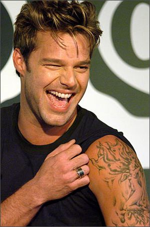 Singer Ricky Martin's naughty sense of humour doesn't seem to be a secret!