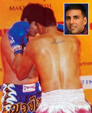 Akshay Kumar's son's name on his back implies he's sensitive and responsible