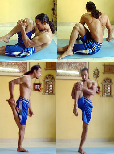 Poses to cool you down
