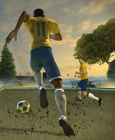 Soccer gaming: What Pu