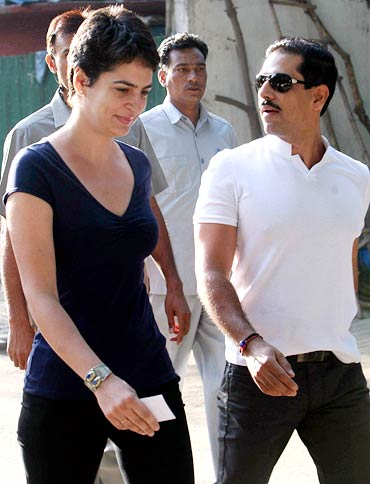 Priyanka Gandhi and Robert Vadra