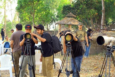 A photography workshop with Nature Wanderers