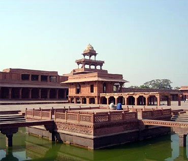Fatehpur Sikri: A masterpiece in red sandstone
