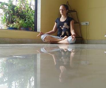 Bhramari pranayama (Humming bee breathing practice)