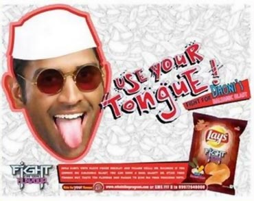 Dhoni is the face for Lays, the leading chip brand