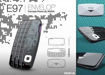 Nokia E97 Envelop