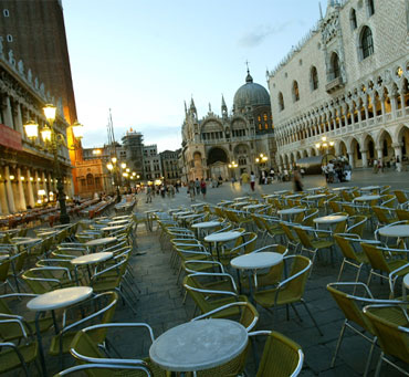 A view of Piazza San Marco in Venice.