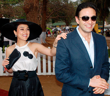 Preity Zinta and Ness Wadia