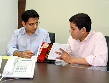 From left: Anant Jatia and Nalin Moniz
