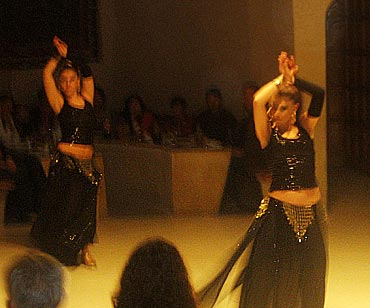 Belly dance performances are very popular in Turkey